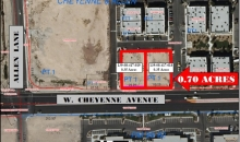 Cheyenne Avenue frontage at Allen Lane North Las Vegas, NV 89032